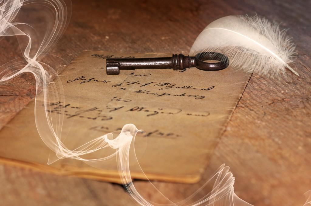 Brief mit Schluessel