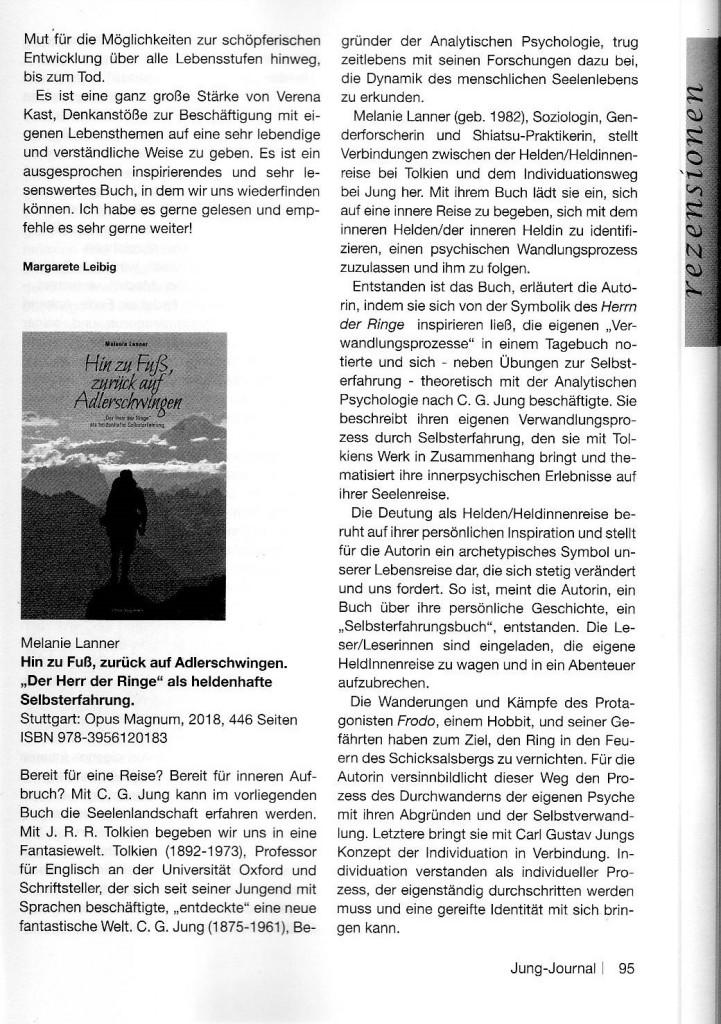 Jung-Journal Buchrezension