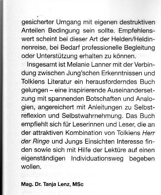 Jung-Journal Tanja Lenz